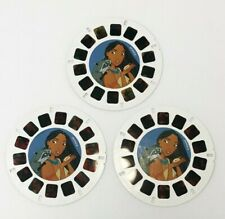 Viewmaster Disney Pocahontas 3 Reels 73903 Fisher Price