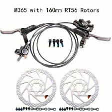 Shimano BR-BL-M365 Hydraulic Disc Bike Brake Set Front and Rear RT56 Rotors