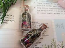 Sorcières Herb bouteille de protection pour Auto Protection et Sécurité-Correcteur Kit Pagan