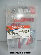 EAGLE CLAW 38-Piece Catfish Tackle Kit #TK-CATFISH1 FREE USA SHIPPING!