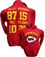 Arrowhead Mafia Hoodie RED Hoody Sweatshirt,Mahomes,Kansas City Chiefs,Jersey