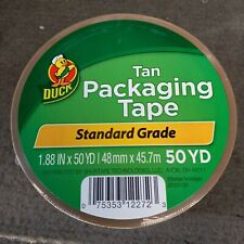 2 X 50 Yards Tan Acrylic Packaging Tape New Amp Sealed