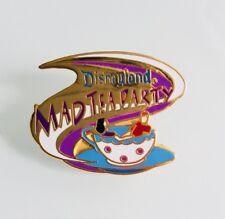 Disney DLR Disneyland 1998 Attractions Alice In Wonderland Mad Tea Party Pin 663