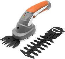 Terratek 2 in 1 Pro 7.2v Lithium Ion Cordless Hand Held Hedge Trimmer