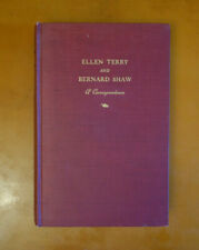 New listing Ellen Terry and Bernard Shaw: A Correspondence, 1932 first edition hardcover