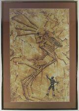 "ALAN M CLARK SIGNED Print Ltd 47/1000 ""Fossil Hands"" HORROR CEMETARY DANCE 1994"