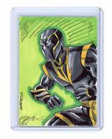 2018 Upper Deck Marvel Masterpieces NJValente Ronin Artist Sketch Card
