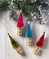 Feather tree ornaments Christmas vintage image item #8 pink GRINCH ornaments