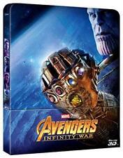 Avengers - Infinity War (3D) (Blu-Ray 3D + Blu Ray) (Limited Steelbook) MARVEL