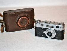 "20% OFF! 1958 RARE USSR ""ZORKI 5"" camera+collapsible INDUSTAR-50 lens (ITEM №3)"