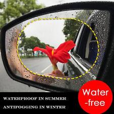 2Stück Auto Rückspiegel Aufkleber Regendicht Anti-Beschlag-Schutzfolie#10x15cm