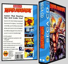 Road Avenger - Sega CD Reproduction Art DVD Case No Game