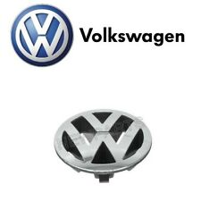 For Volkswagen Touareg 04-07 Radiator Grille Emblem Chrome Badge Front Genuine