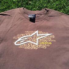 Alpinestars Brand Clothing Mens Size Medium T-Shirt Tee Shirt Alpine Stars moto