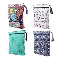 Baby Diaper Organizer Waterproof Prints Bag Mummy Storage Bag Travel Nappy Bag