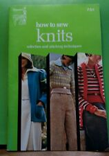Vintage 1972-1974 Singer Sewing Library How To Sew Knits Handbook