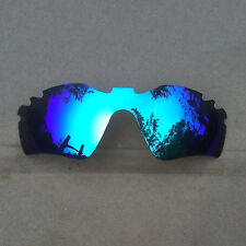 Blue Mirrored Replacement Lenses for-Oakley Radar Path Vented Sunglass Polarized
