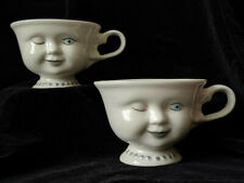 2 Anthropomorphc Coffee Cups Baileys HOWARD HOLT for LA Youth Network
