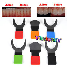 6Pcs/ Kit Dental Silicone Contraster Oral Black Background Board Photography