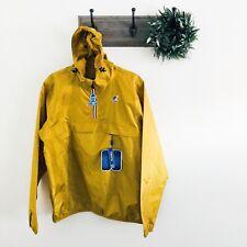 NWT K-Way Sant Ambroeus Gold Windbreaker Jacket M