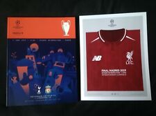 More details for 2019 liverpool v tottenham champions league final official programme & poster