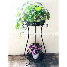 Double Layers Flower Pots Plant Stand Display Shelf Garden Plant Organiser