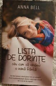 Lista de Dorinte de Anna Bell Book in Romanian