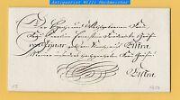 Budißin 30.May 1813 Schnörkelbrief des von Kiesenwetter an die Gräfin von Lynar