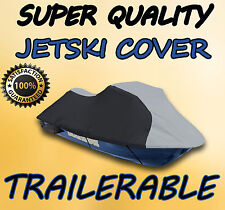 Sea Doo GTX Deluxe JetSki Jet Ski PWC Cover 96 97 98 99 -01 02 Grey/Black