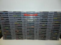 Super Nintendo SNES Games Complete Fun You Pick & Choose Video Game Updated 9/14