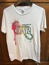 Of A Revolution O.A.R. 2009 Summer Concert Tour Tee T Shirt OAR Women S White