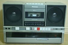 80s Panasonic model: Sg-J500 stereo Radio-Tape-Turntable Ghetto-Blaster Boombox