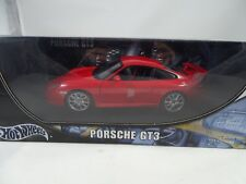 1 18 Hot Wheels Porsche Gt3 Red - Rarität