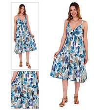 Vestido de noche pistacho para mujer Cotton Crossover Tropical Largo Hasta La Rodilla Midi verano