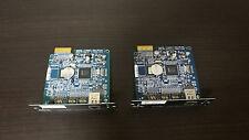 Lot of 2 APC AP9630 NMC UPS Network Management Card 2 10/100