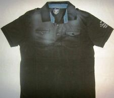 Authentic Fred Mello U.S. Air Division Houston Pouch Pocket Polo Shirt Size S