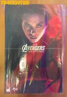 Hot Toys MMS288 Avengers Age of Ultron Black Widow Scarlett Johanssan Open New