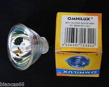 *** UNE LAMPE OMNILUX EFP 12 VOLTS / 100 WATTS GZ 6.35 NEUVE - 500 HEURES ***
