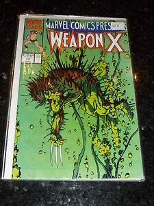 MARVEL COMICS PRESENTS - WEAPON X - Vol 1 - No 73 - Date 1991 - Marvel Comic