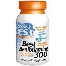 Doctor's Best Best Benfotiamine 300