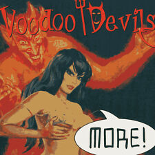 VOODOO DEVILS More! CD - PSYCHOBILLY - New - Raucous Records - Punk - rockabilly