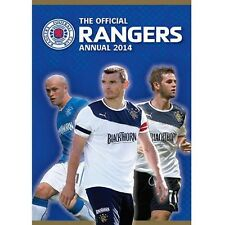 The Official Rangers FC Annual Yearbook 2014 new Scottish Premier League Gers