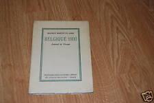 Martin du Gard Belgique E.O cahiers libres