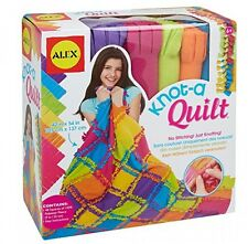 Alex Toys Craft Knot A Quilt Kit, New, Free Shipping