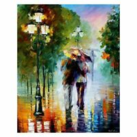Paintworks Paint By Number in the Rain Unique Gift 16 x 20 Inch (Frameless) F9R8