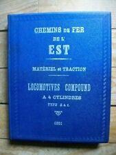 Livre Ingénieur Locomotives COMPOUND Type 241.002 1931 88 planches Ferroviaires