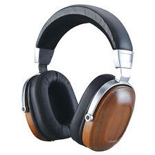 BOSSHIFI B8 Stereo Wooden Over-ear Black Mahogany Earphone Headphone Headset