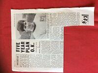 m2M ephemera 1966 football article alvechurch f c vic pailing