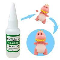 18ml Doll Glue Silicone Tear Mender Quick Fix For Dolls Toy Repair B8W5