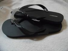 NAVY BLUE OLD NAVY MEN'S SANDALS FLIP FLOPS SLIPPERS RUBBER SOLES 12-13